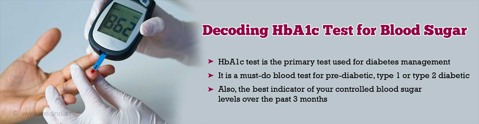 Decoding HbA1c Test for Blood Sugar