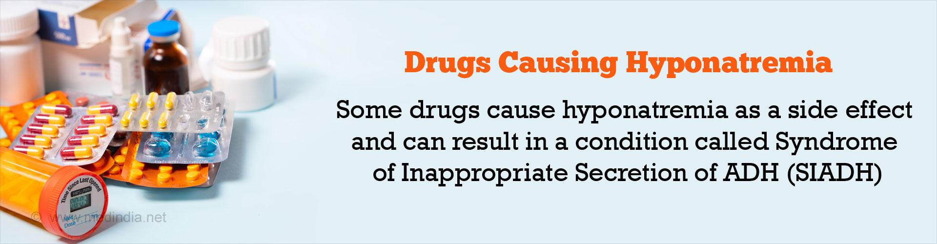Drugs Causing Low Sodium Levels / Hyponatremia