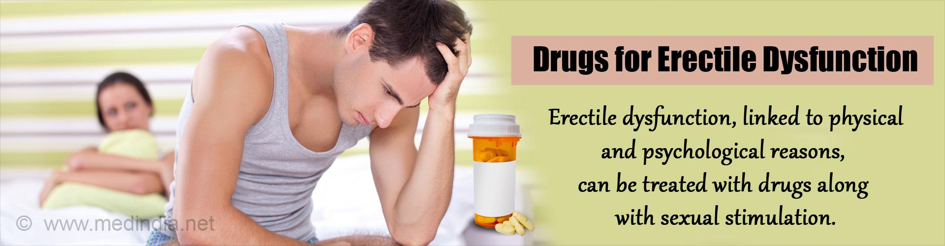 Drugs for Erectile Dysfunction