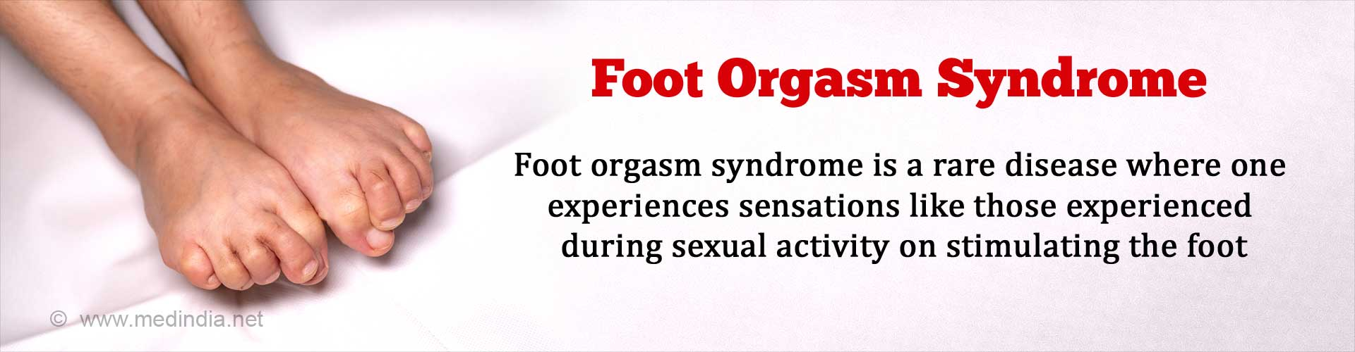 Foot Orgasm Syndrome