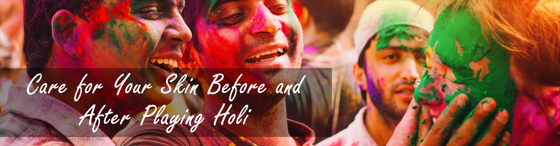 Holi Colors: How to Clean Your Face After Holi?