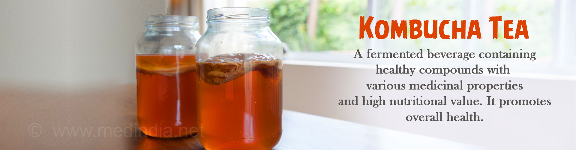 Health Benefits of Kombucha Tea