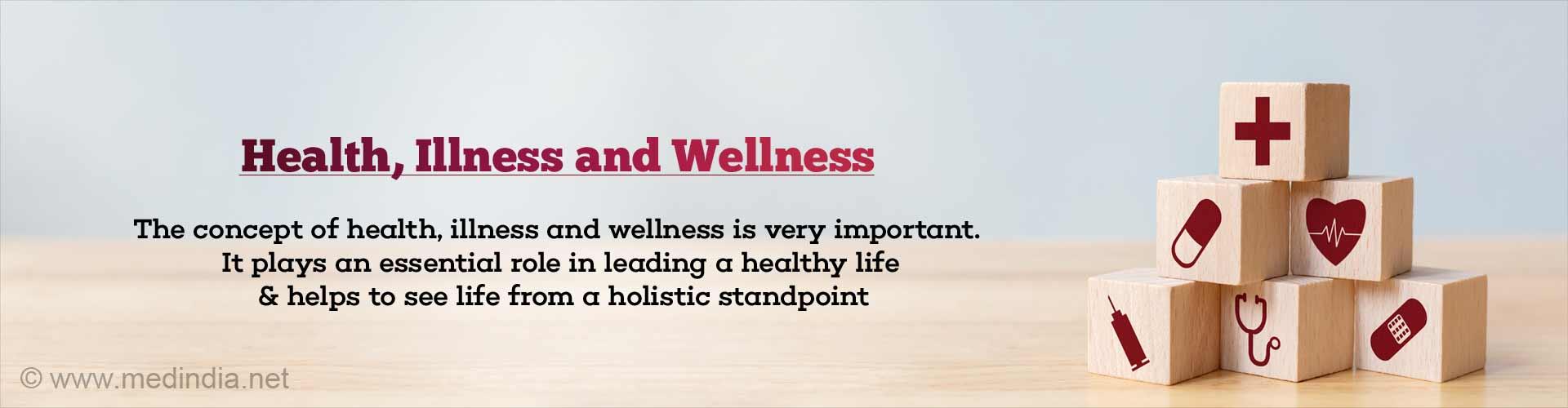 Health, Illness and Wellness: Essential Concept for a Holistic View of Life