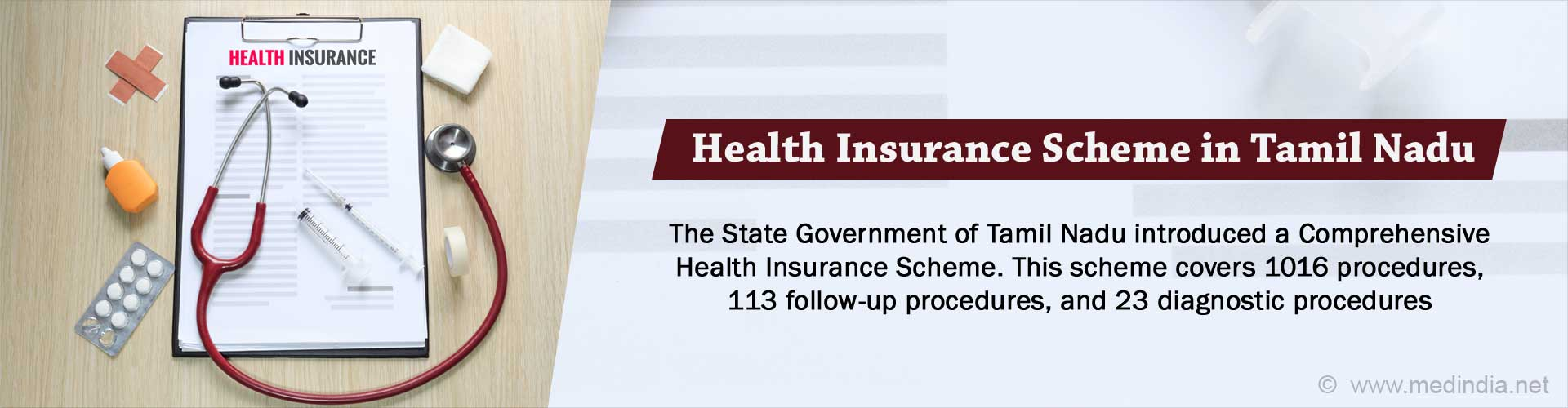 Comprehensive Health Insurance Scheme in Tamil Nadu - Eligibility, Procedure, Features, Benefits