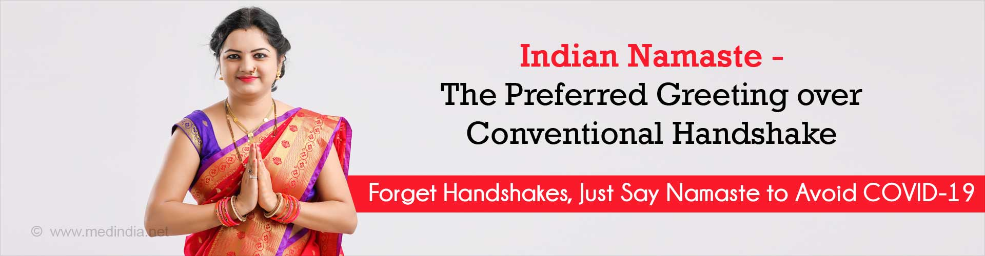 ndian Namaste the Preferred Greeting over Conventional Handshake