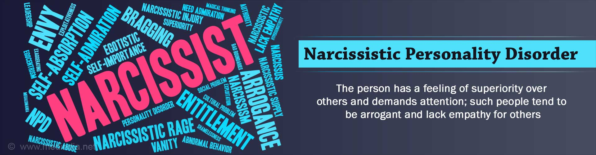 Narcissistic Personality Disorder - Causes, Symptoms, Complications, Diagnosis, Treatment