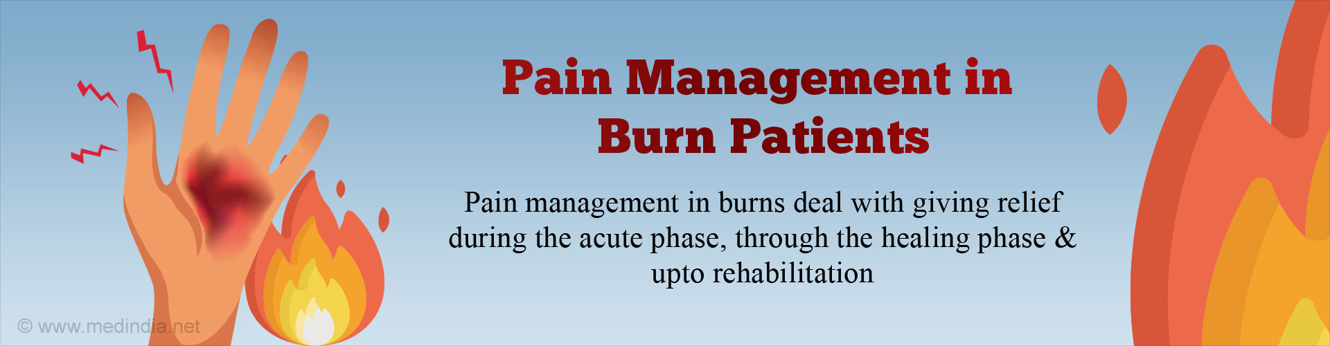 Pain Management for Burn Injuries