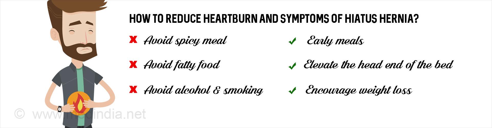 Hiatus Hernia - Types, Causes, Symptoms, Complications