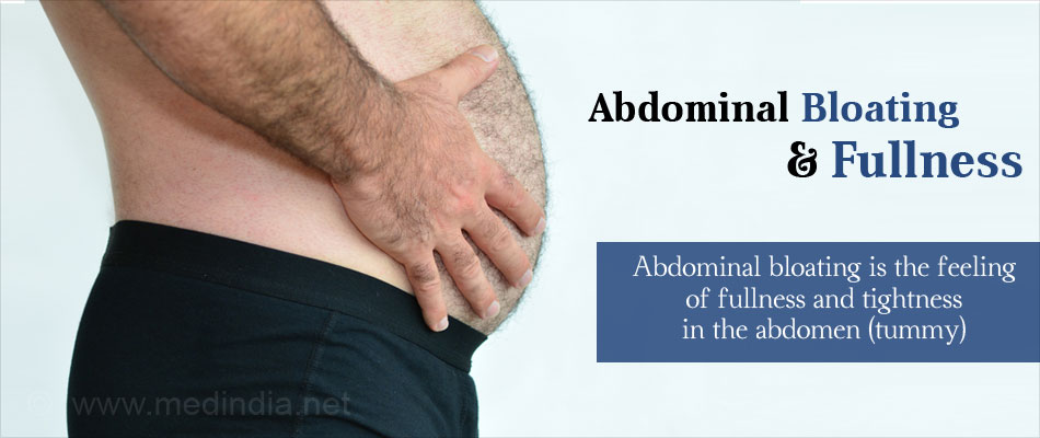 Abdomen Bloating and Fullness - Symptom Evaluation