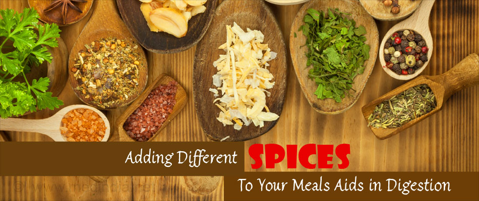 Adding Different Spices To Your MealsAids in Digestion