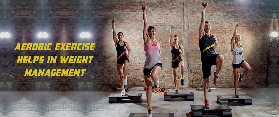 Aerobic Exercise Helps in Weight Management
