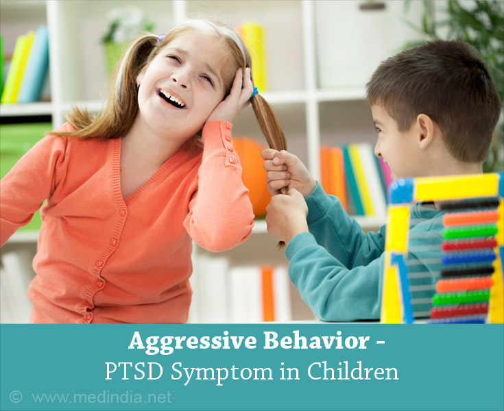 Aggressive Behavior - PTSD Symptom in Children