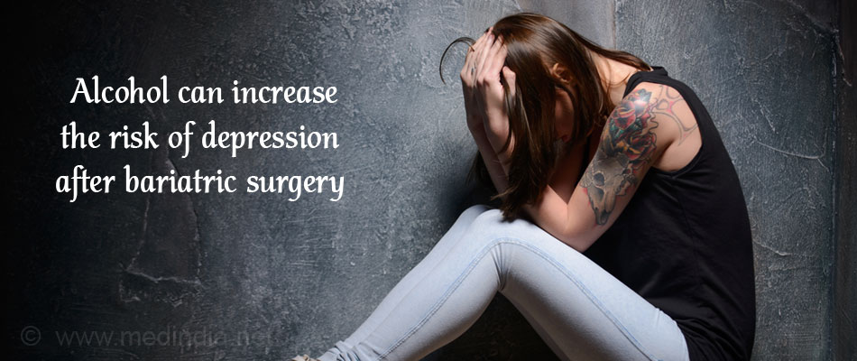 Alcohol Increases The Risk Of Depression In Patients Who Underwent Bariatric Surgery