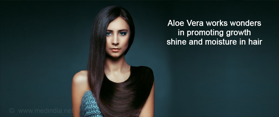 Health Benefits of Aloe Vera: Healthy Hair