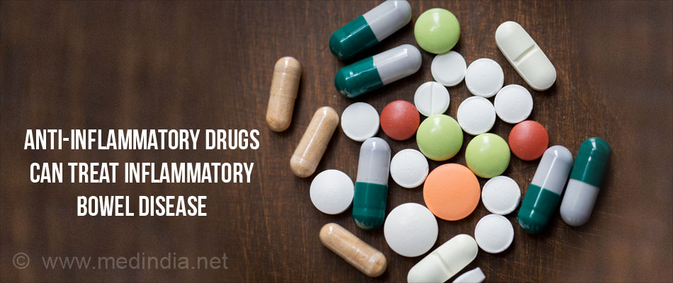 Anti-inflammatory Drugs Can Treat Inflammatory Bowel Disease