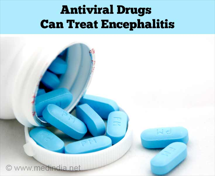 Antiviral Drugs Can Treat Encephalitis