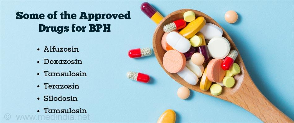 Drugs For Benign Prostatic Hyperplasia Symptoms