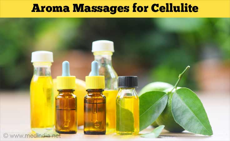 Aroma Massages for Cellulite