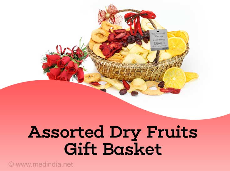 Assorted Dry Fruits Gift Basket