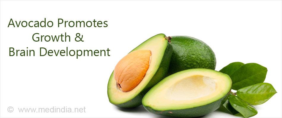 Avocado Promotes Growth & Brain Development