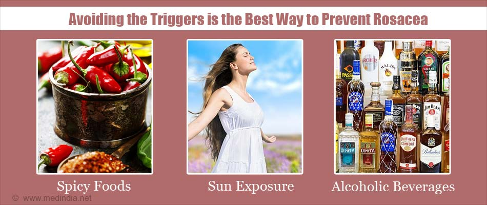 Avoiding the Triggers is the Best Way to Prevent Rosacea