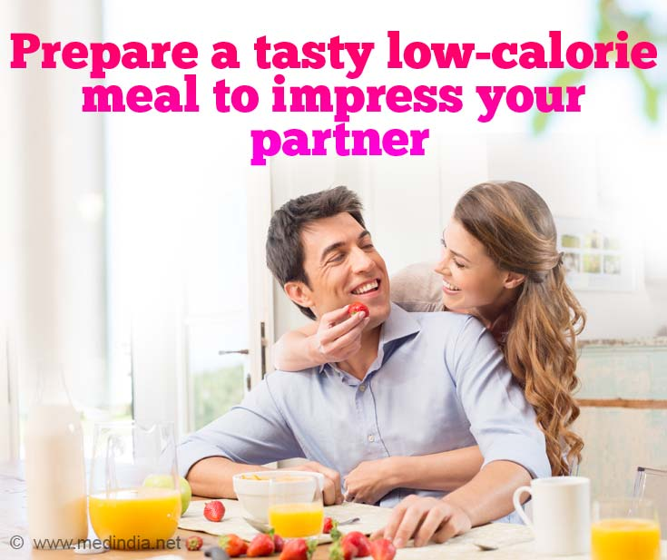 Best Gift for Your Valentine: Tasty Low-calorie Meal