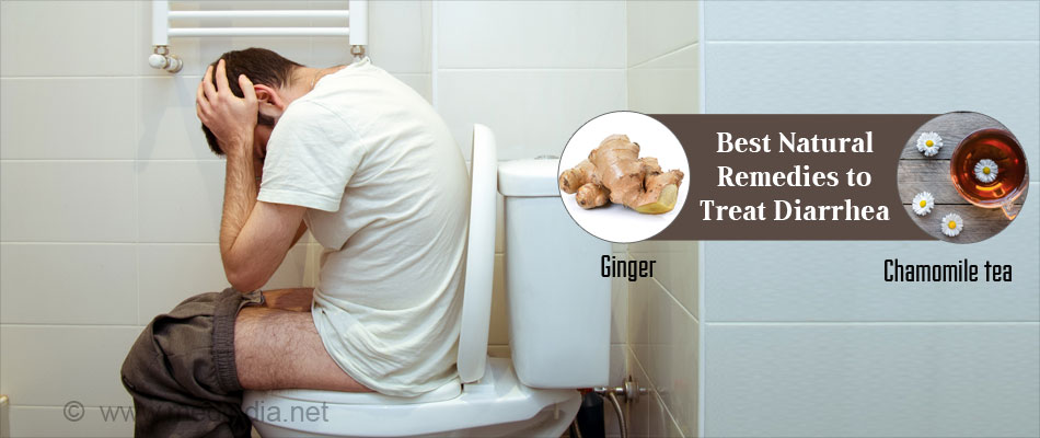 Best Natural Remedies to treat Diarrhea