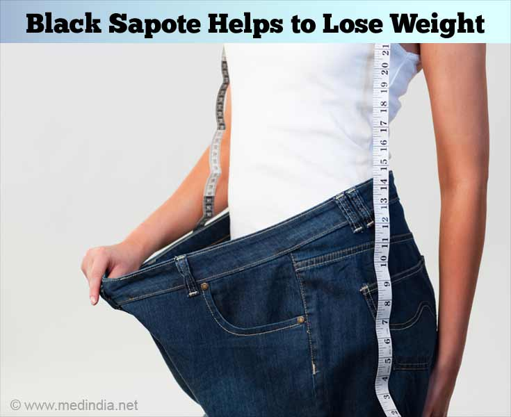 Black Sapote Aids Weight Loss