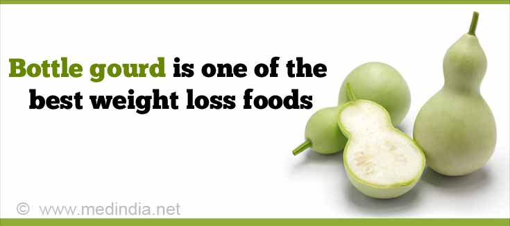 Bottle Gourd is One of the Best Weight Loss Foods
