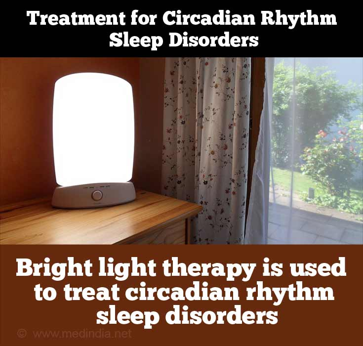 Bright Light Therapy to Treat Circadian Rhythm Sleep Disorders