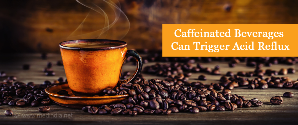 Caffeinated Beverages Can Trigger Acid Reflux