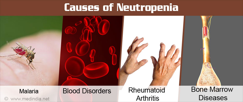 Causes of Neutropenia