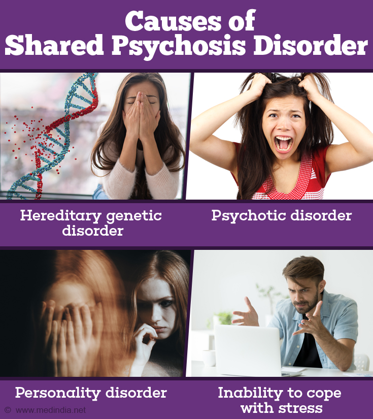 shared psychosis disorder causes symptoms diagnosis treatment
