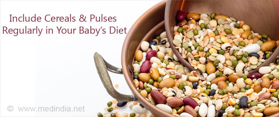Give Your Baby a Protein-rich Diet