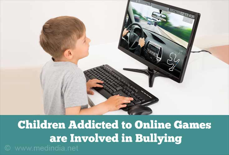 Children Addicted to Games are Involved in Bullying