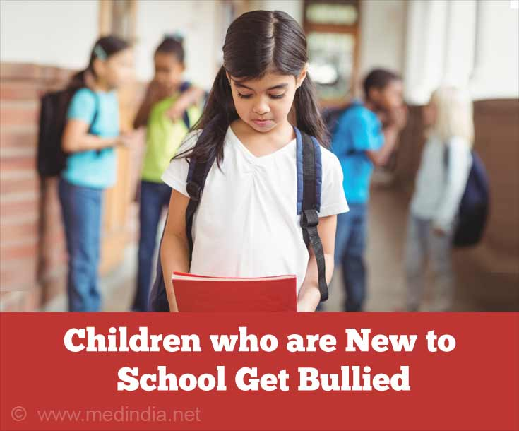 Children Who are New to School Get Bullied
