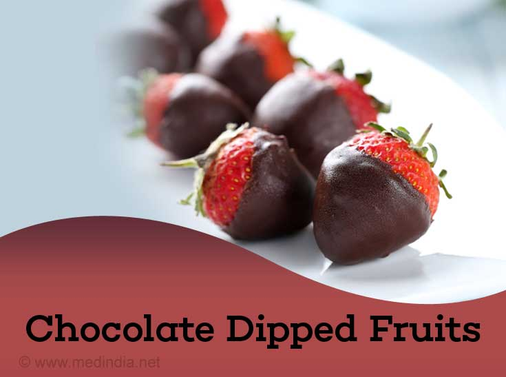 Chocolate Dipped Fruits