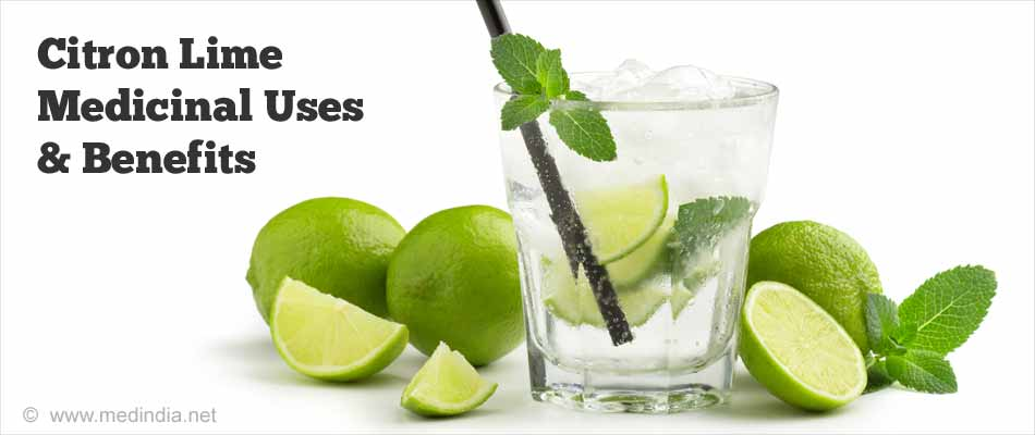 Citron Lime: Benefits and Recipes
