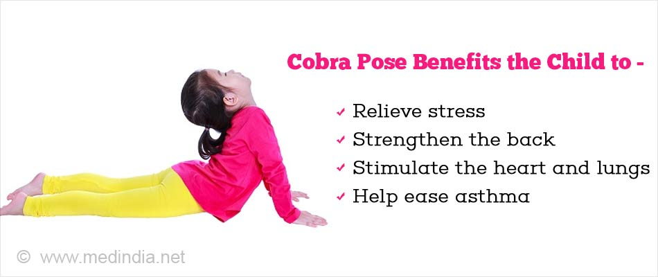 Cobra Pose Yoga For Kids