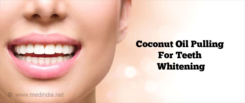 Coconut Oil Pulling Can Whiten Teeth