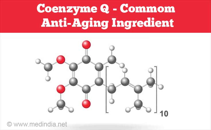 Coenzyme Q - Common Anti-aging Ingredient