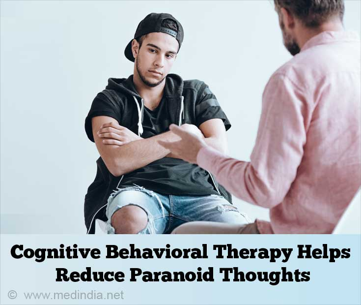 Cognitive Behavioral Therapy Helps Reduce Paranoid Thought