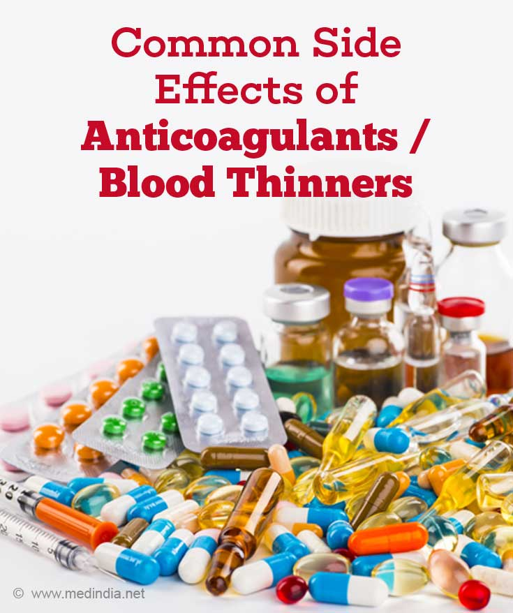 blood thinners side effects men