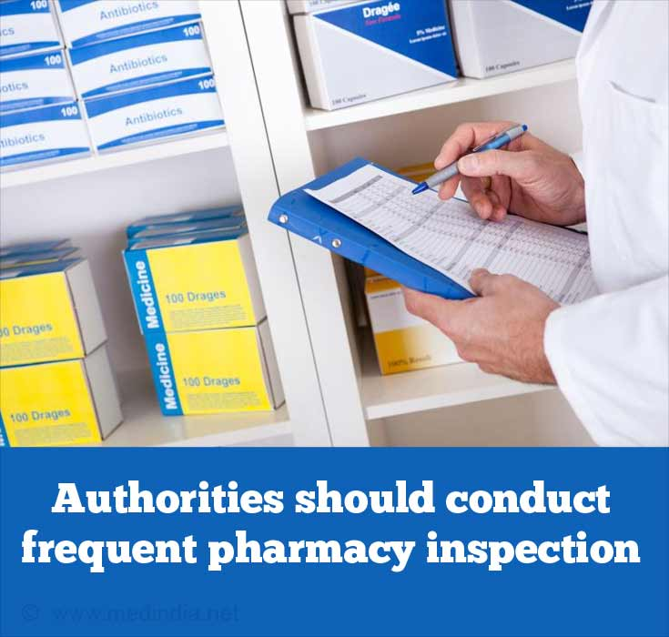 Conduct Frequent Pharmacy Inspections