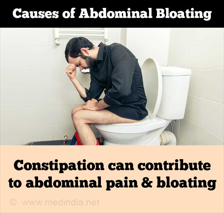 Causes of Abdominal Bloating - Constipation