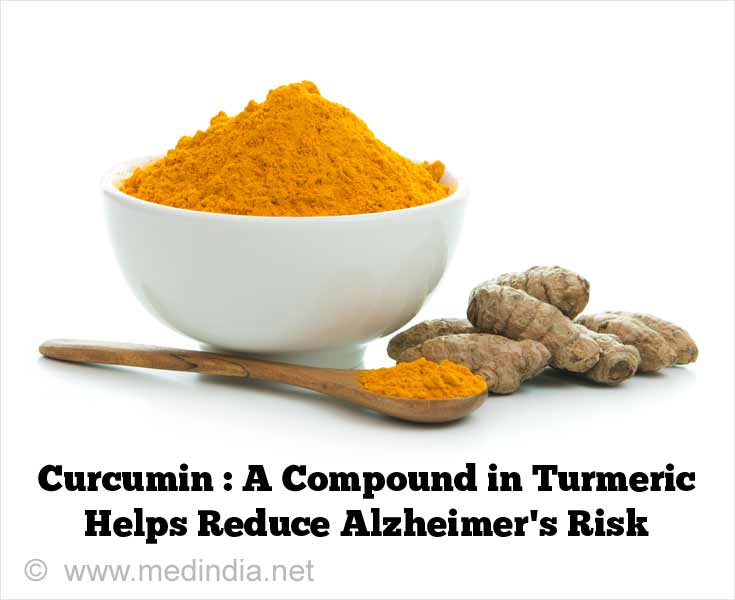 Curcumin: A Compund in Turmeric Helps Reduce Alzheimer's Risk