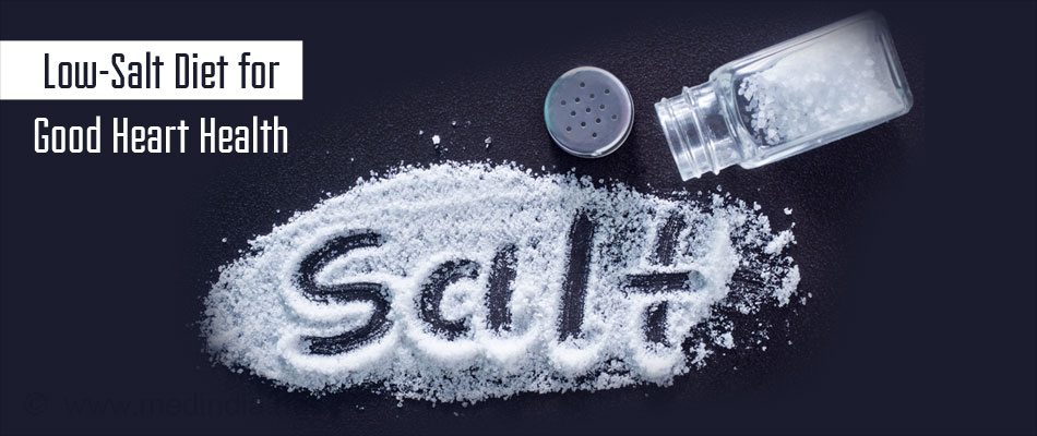 Low Salt Diet for Good Heart Health
