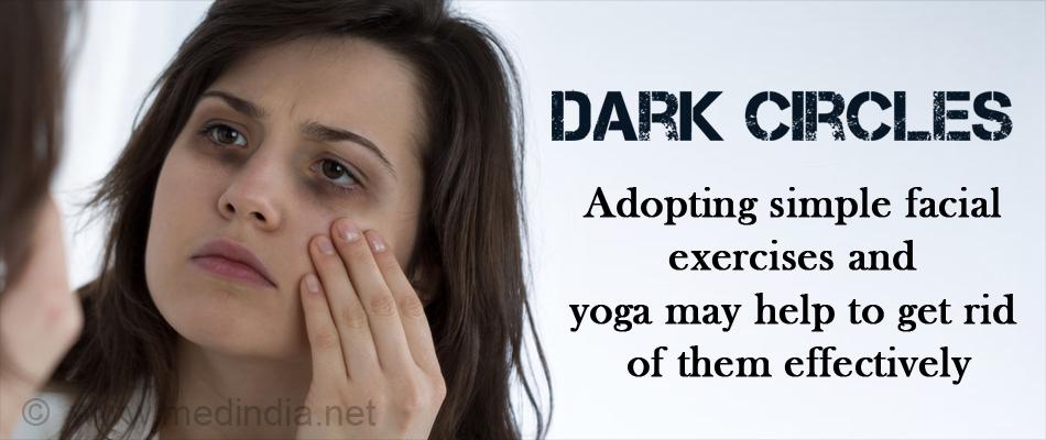 Get Rid of Dark Circles through Facial Exercise