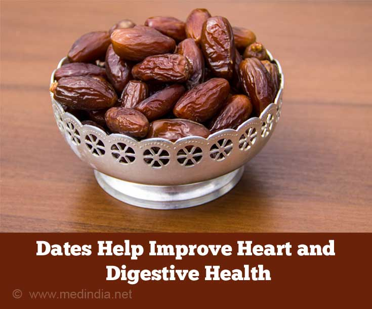 Dates Help Improve Heart and Digestive Health