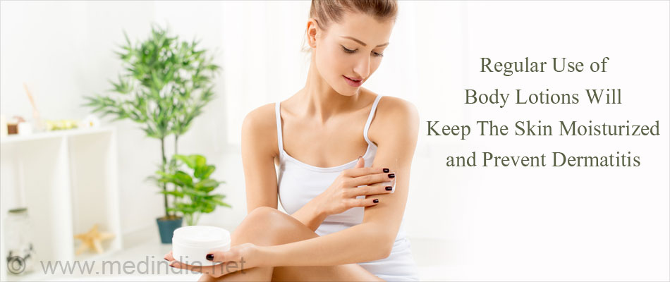 Regular Use Of Body Lotion For Skin Moisturizing Can Prevent Dermatitis
